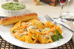 Five cheese tortellini Royalty Free Stock Image