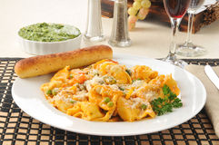 Five cheese tortellini Royalty Free Stock Photography