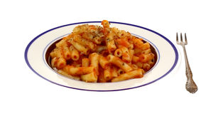 Five Cheese Ziti Cooked Meal Stock Images