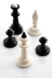 Five chess Stock Photos