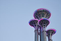 Five circles Sightseeing tower Stock Photography