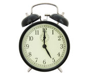 Five of clock Stock Images