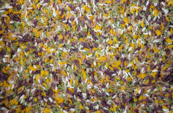 Five Colored Rice China Stock Photography