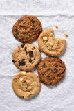 Five Cookies Stock Photo