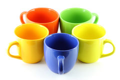 Five Cups Stock Photography