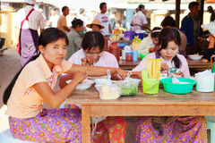 Free Five-day Market, Inle Lake Stock Photography - 48810112