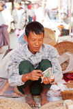 Five-day market, Inle Lake Royalty Free Stock Images