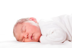 Five days old baby Stock Photos