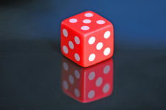 Five Dice. Royalty Free Stock Images