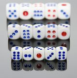 Five Dice Royalty Free Stock Photo