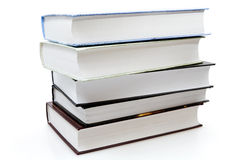 Five different books Royalty Free Stock Photos