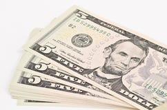 Five dollar royalty free stock photos