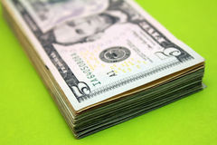 Five dollar bill Stock Photo