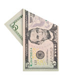 Five dollars bill Stock Images