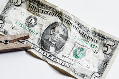 Five dollars Stock Images