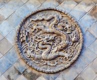 Five-Dragon Screen of Datong Royalty Free Stock Images