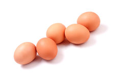 Five_eggs Royalty Free Stock Images