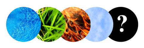 Five elements Royalty Free Stock Image