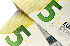 Five euro banknote Royalty Free Stock Images