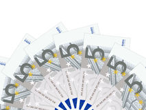 Five euro banknotes Royalty Free Stock Images