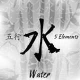 Sceth 5elements set1 Royalty Free Stock Photos