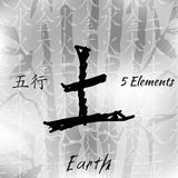 Sceth 5elements set1 Stock Photography