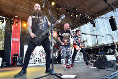 Five Finger Death Punch Royalty Free Stock Photos