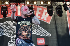 Five Finger Death Punch Royalty Free Stock Images