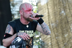 Five Finger Death Punch Royalty Free Stock Photography