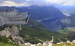 Five Fingers most spectacular viewing platform in the Alps, Austria Royalty Free Stock Photography