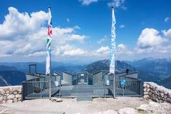 Five Fingers observation deck, Obertraun, Austria Stock Image