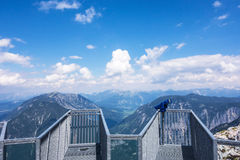 Five Fingers observation deck, Obertraun, Austria Stock Photos