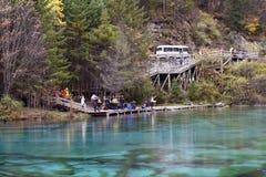 Five Flower Lake, Jiuzhaigou Valley Royalty Free Stock Images