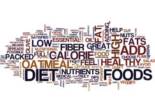 Five Foods That Fight Flab Text Background  Word Cloud Concept Stock Photo