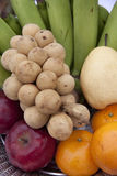 Five Fruit Royalty Free Stock Image