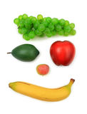 Five fruits Stock Image