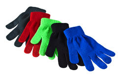 Five Gloves Royalty Free Stock Photo