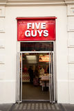 Five guys Royalty Free Stock Photos