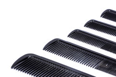 Five hair combs Royalty Free Stock Image