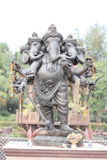 Five head sculpture of Ganesha Royalty Free Stock Photos