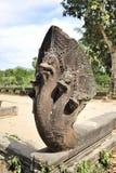 Five head snake in Beng Mealea Stock Photo