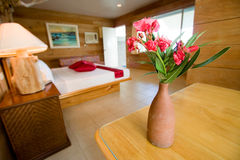 five hotel room star Στοκ Φωτογραφία