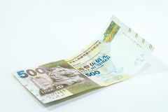 Five Hundred Dollars Hong Kong, Hong Kong Money Stock Photo