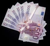 Five hundred euro Stock Photo