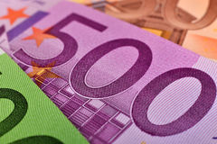 Five hundred euro banknote Stock Image