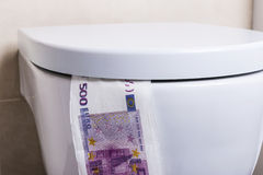 Five hundred euro banknotes Royalty Free Stock Images