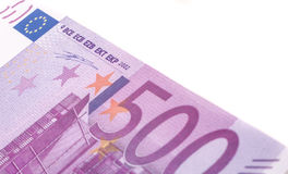 Five hundred euro note Stock Photo