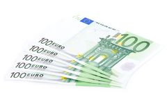Five hundred euros Stock Photo