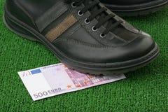 Five hundred euros Royalty Free Stock Photos