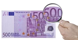 Five hundred euros Royalty Free Stock Photography